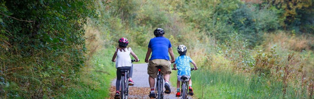 Enjoy a cycling holiday along the Shannon Blueway and the numerous trails around Leitrim