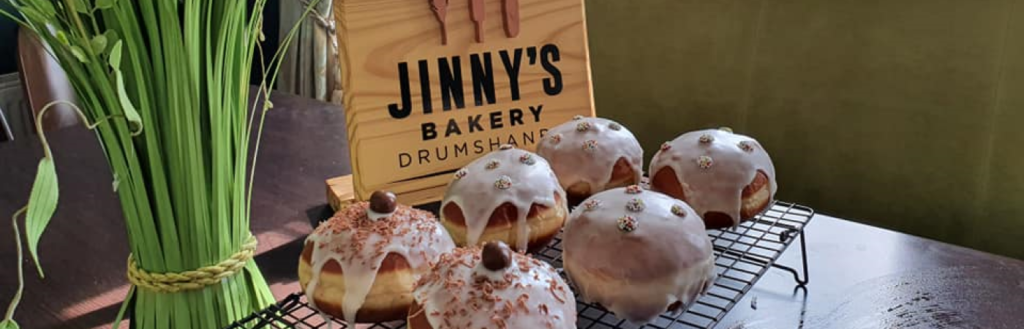 At Jinny's Tea Rooms enjoy outdoor dining and wholesome fresh slow food.
