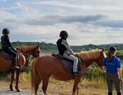 Pony and horse trekking in Leitrim with Moorlands Equestrian Centre
